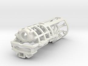 Graflex2.0 - Knight Chassis Variant 1 - Part2 in White Premium Versatile Plastic