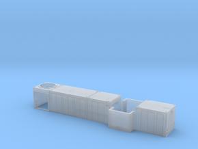 Vorbauten für eine MAK 1205 1:87 H0 in Smoothest Fine Detail Plastic
