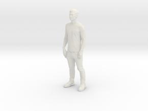 Printle C Homme 285 - 1/32 - wob in White Natural Versatile Plastic
