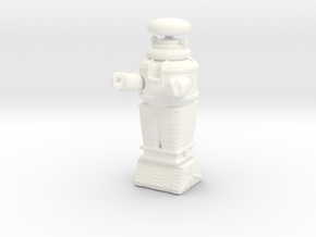 Lost in Space Robot - 1 inch in White Processed Versatile Plastic
