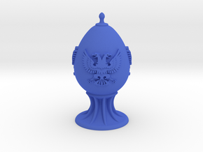 Three-Eagle Egg in Blue Processed Versatile Plastic