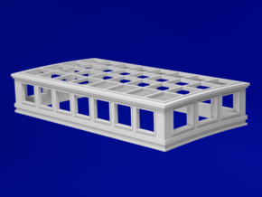 1:84 HMS Victory Skylight in Smoothest Fine Detail Plastic