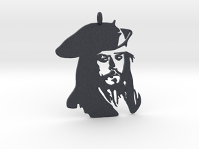 Captain Jack sparrow Pendant in Black PA12