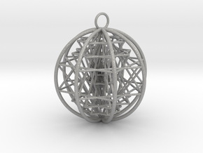 3D Sri Yantra 8 Sided Optimal   in Aluminum