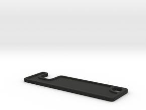 SMARTPHONEHOLDER_KEYRING_12MM in Black Natural Versatile Plastic: Medium