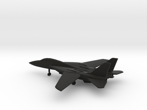 Grumman F-14 Tomcat in Black Natural Versatile Plastic: 6mm