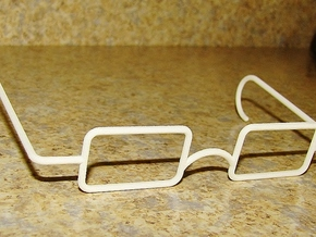 Mrs. Beasley Glasses for 21 in White Strong & Flexible