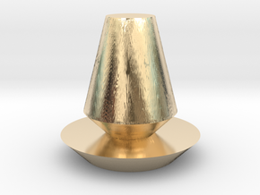 vase in 14K Yellow Gold: Medium