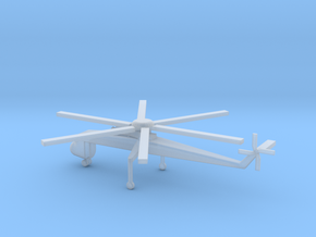1/285 Scale Sikorsky CH-54 Tarhe in Smooth Fine Detail Plastic