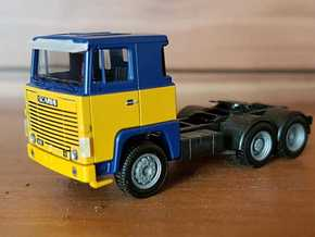 02 116 Sonnenblende Scania 111/141 in Smoothest Fine Detail Plastic