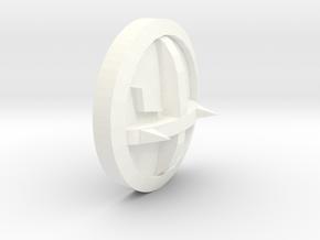 B13Shield in White Processed Versatile Plastic