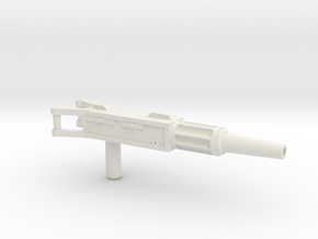 Archimonde Machine Gun in White Natural Versatile Plastic