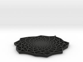 Phyllo in Black Natural Versatile Plastic