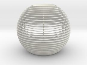 Ray Flo Max in White Natural Versatile Plastic