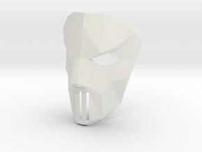 Case Jons Mask in White Natural Versatile Plastic