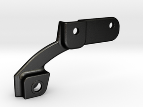 TRX4 (DRIVER) F LEAF HANGER in Matte Black Steel