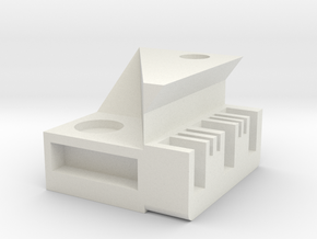 PIANO storage box in White Natural Versatile Plastic
