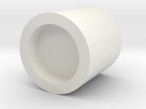 B13 flashlight in White Natural Versatile Plastic