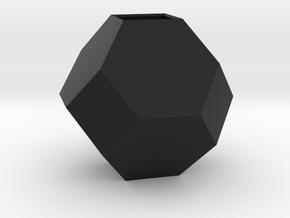 mini geodesic dome planter in Black Natural Versatile Plastic