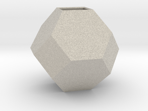 mini geodesic dome planter in Natural Sandstone