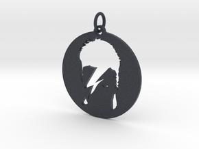 Ziggy Stardust Pendant in Black Professional Plastic