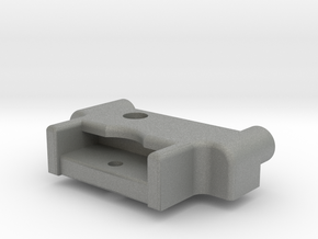 Symmetric M05 Battery Mount (Right Side) in Gray Professional Plastic