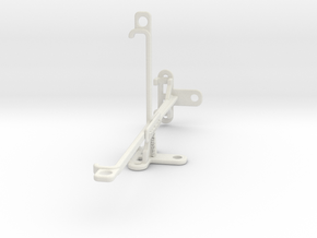 Samsung Galaxy A8 Star (A9 Star) tripod mount in White Natural Versatile Plastic
