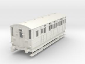 0-76-mslr-jubilee-brake-3rd-coach-1 in White Natural Versatile Plastic