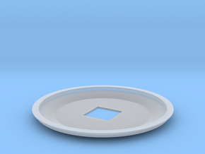 1-1000th Enterprise Saucer Top in Smooth Fine Detail Plastic