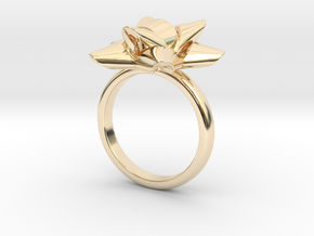 Gift Bow Ring in 14K Yellow Gold: 4 / 46.5