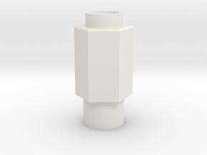legris straight in White Natural Versatile Plastic