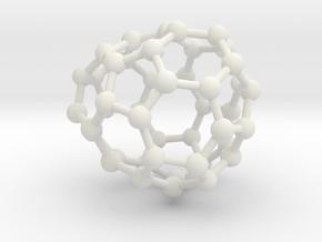 0680 Fullerene c44-52 c1 in White Natural Versatile Plastic