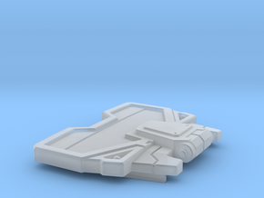 Flame Master Chest  in Smooth Fine Detail Plastic
