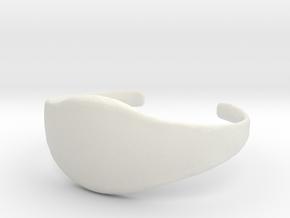Trapjaw Belt in White Natural Versatile Plastic