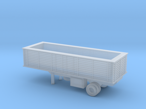 1/220 Scale M118 Trailer in Smooth Fine Detail Plastic