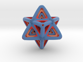 Sacred Merkaba Color sandstone in Matte Full Color Sandstone