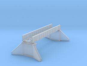 Deck plate girder bridge Z scale in Smooth Fine Detail Plastic