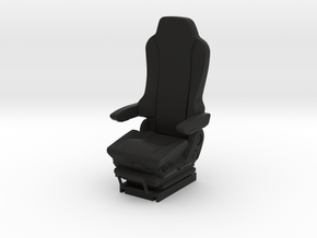 GRAMMER Truck seat 1/24 scale model kit in Black Natural Versatile Plastic