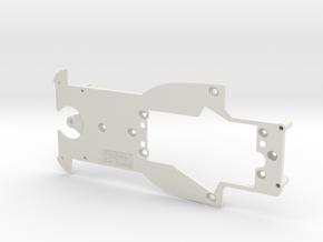 PSAV00301 Chassis for Avant Slot Porsche Spyder in White Natural Versatile Plastic