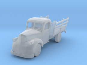 S Scale Old Truck in Smooth Fine Detail Plastic