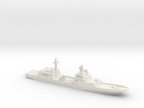 Ivan Gren-class landing ship, 1/2400 in White Natural Versatile Plastic
