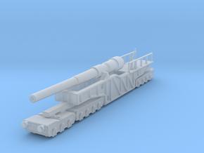 12 inch gun mk 9 railway artillery  1/144 in Smooth Fine Detail Plastic