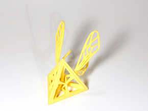 Tetra-Wasp in Yellow Processed Versatile Plastic