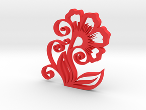 wall decor in Red Processed Versatile Plastic