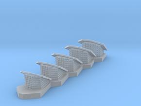1:77 Scale Disney Nautilus Raised Breather Flaps in Smooth Fine Detail Plastic