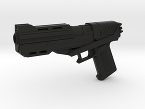 DC-15s Sidearm in Black Natural Versatile Plastic