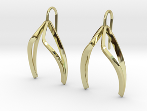 sWINGS Light Earrings. in 18K Gold Plated