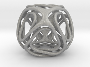 Twisted looped Octahedron in Aluminum