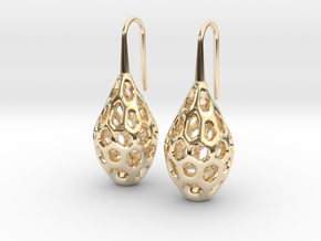 HONEYBIT Earrings.  in 14K Yellow Gold