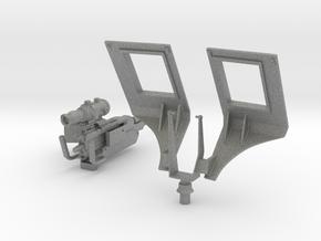 TUSK II for Abrams Loader M249 (7.62) machine gun, in Gray Professional Plastic